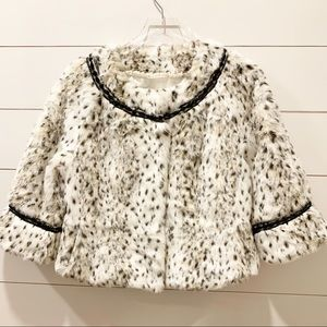 TERRY LEWIS Classic Luxuries Snow Leopard Coat
